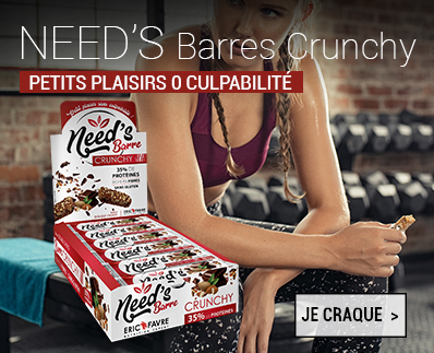 Barres proteinées Need's