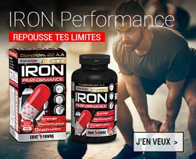 Iron Performance E.A.A acides aminés essentiels