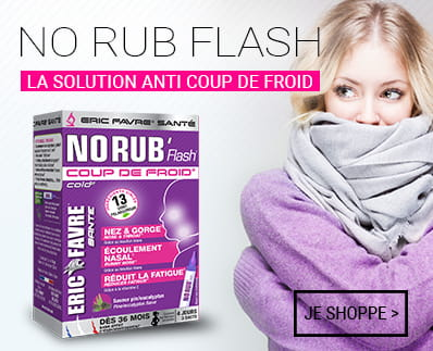 No Rub coup de froid