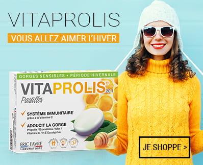 Vitaprolis pastille contre les maux de gorge