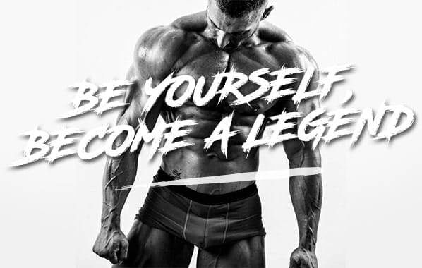 Be yourself, become a legend