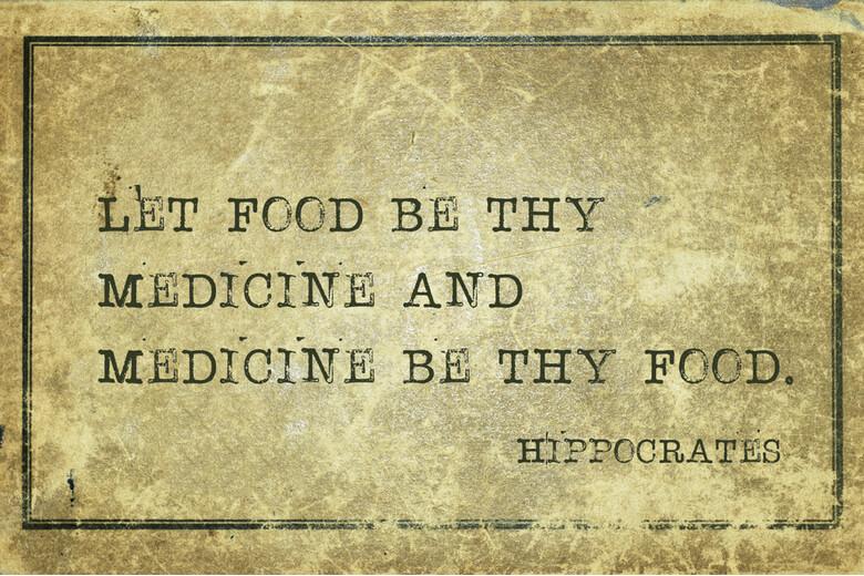 Détox et histoire, Que ta nourriture soit ta médecine et que te médecine soit ta nourriture