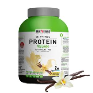 protéine vegan vanille eric favre sport