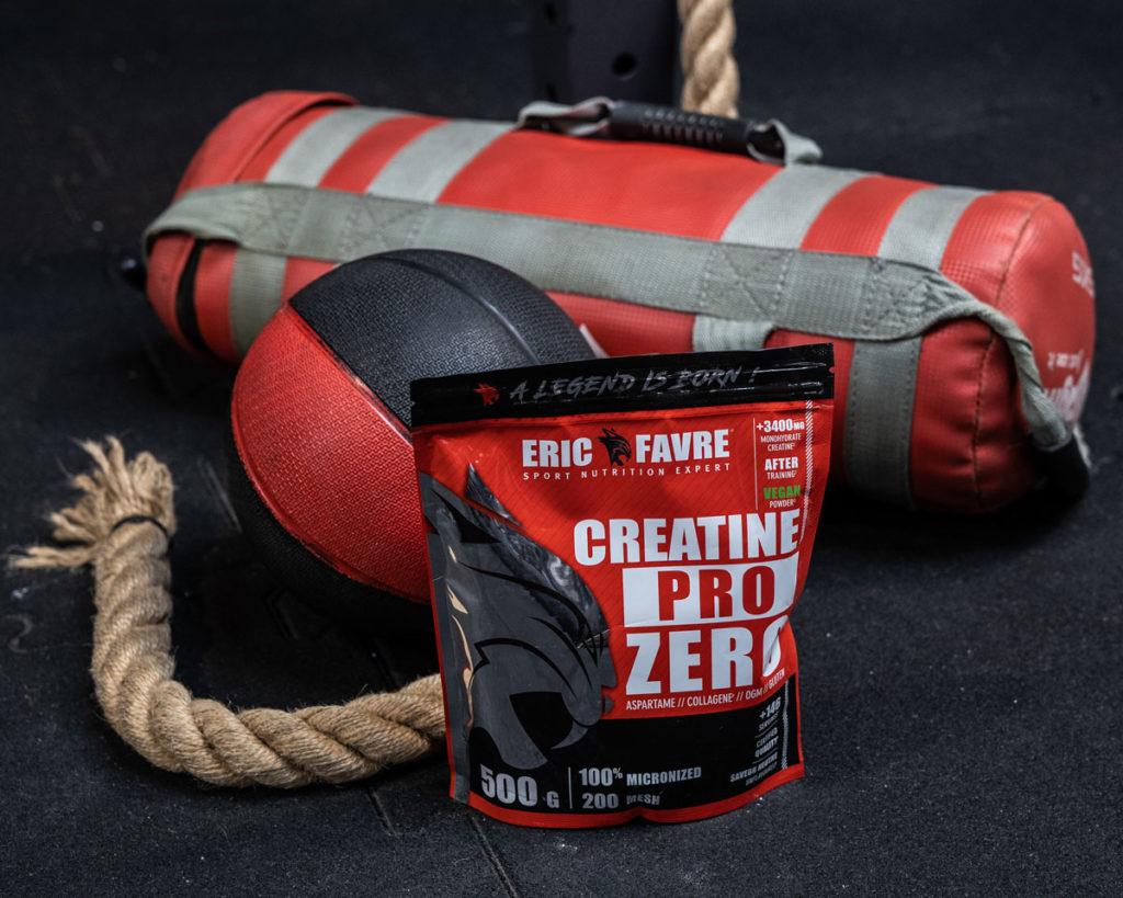 Creatine Pro Zero Eric Favre Sport