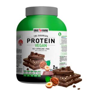 proteine vegan chocolat noisette