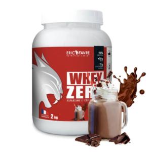 pure whey zero chocolat eric favre sport