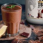 smoothie chocolat gingembre