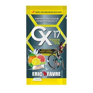 Pre Workout Vegan Cx17 - SACHET