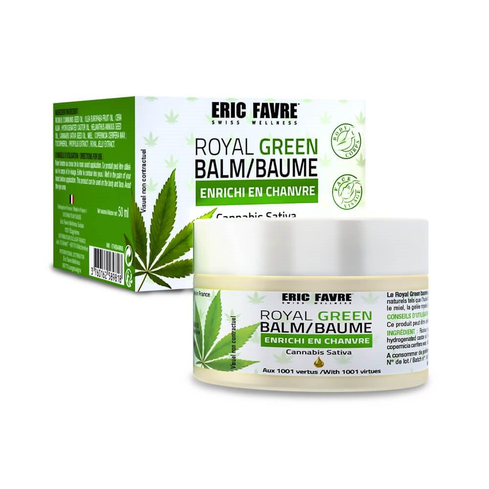 Baume Hydratant Royal Green Enrichi En Chanvre