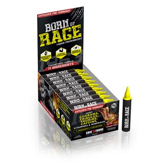Born of rage shot - Complexe PreWorkout