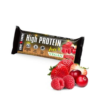 High Protein bar vegan - Bar de collation hyperprotéinée
