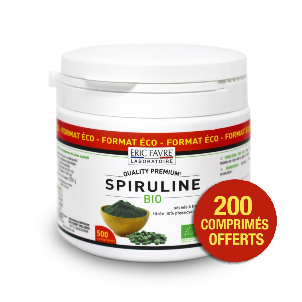 Spiruline Vegan Bio - Format ECO