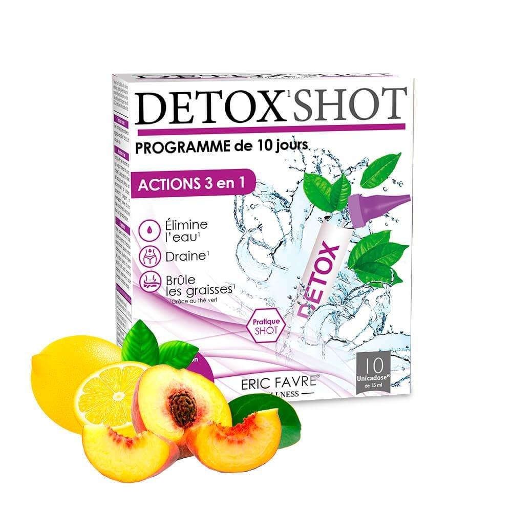 Detox Shot - Programme Détox 3 en 1