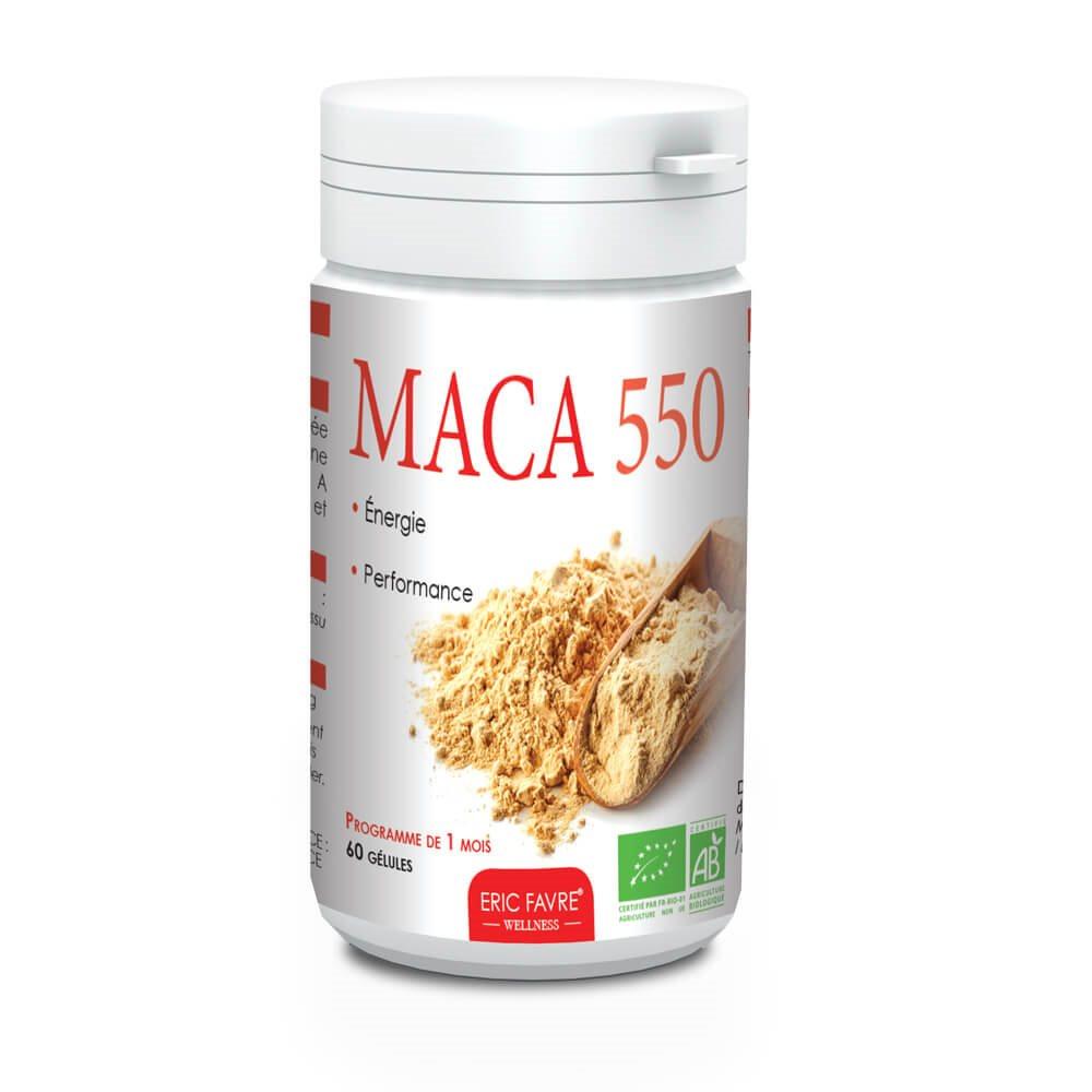 Maca 550 Bio Ginseng Péruvien 60 Gélules