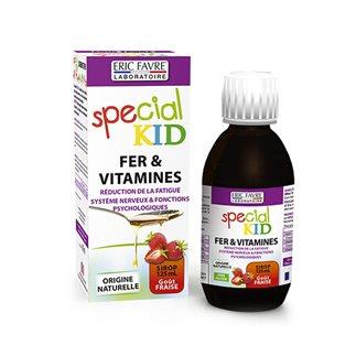 Sirop Special Kid Fer et Vitamines
