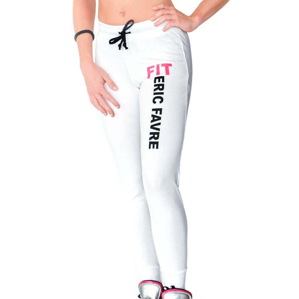 Pantalon Leggings Slim Blanc