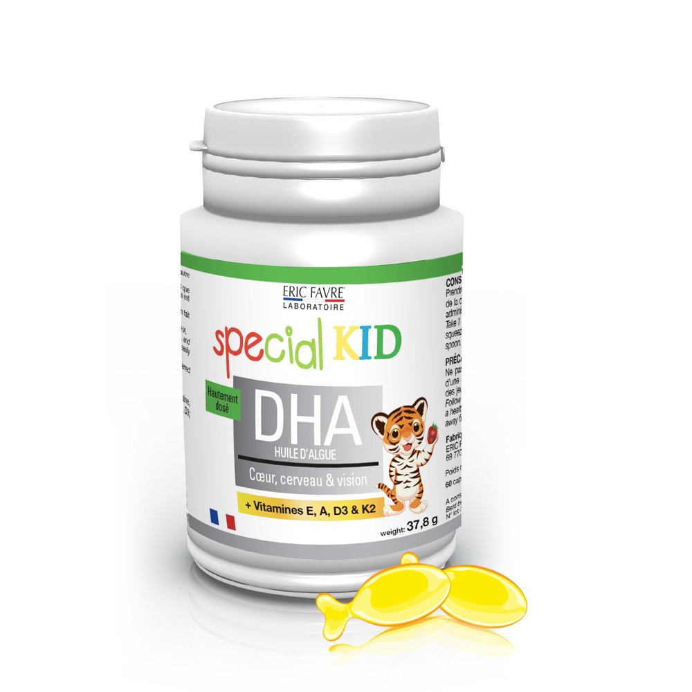 Special Kid DHA - Huile d'algues enrichies en DHA et vitamines