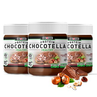 Chocotella Healthy - pâte chocolat protéinée à tartiner - Lot de 3